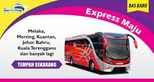 Exspress Maju secara rasmi menyertai BusOnlineTicket.com.