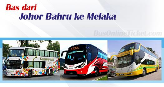 Bas Johor Bahru ke Melaka