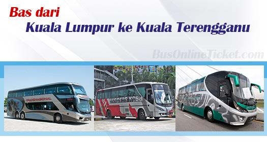 Bas dari Kuala Lumpur ke Kuala Terengganu