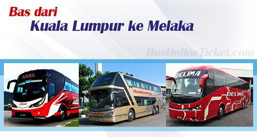 Bas dari KL ke Melaka