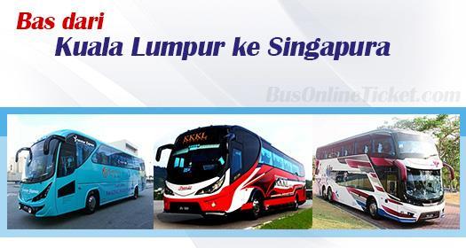 Bas dari Kuala Lumpur ke Singapura