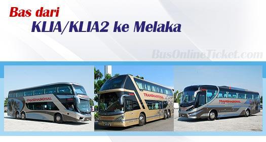 Bas KLIA/KLIA2 ke Melaka