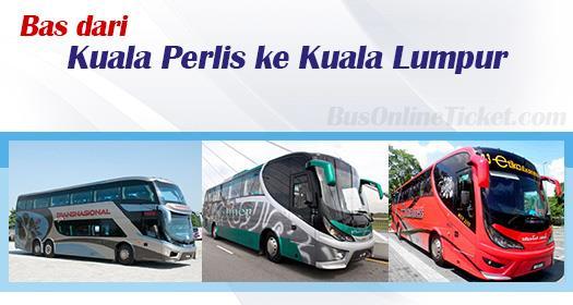 Bas dari Kuala Perlis ke Kuala Lumpur