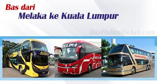 Bas dari Melaka ke Kuala Lumpur