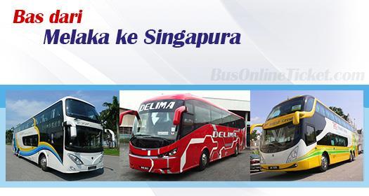 Bas dari Melaka ke Singapura