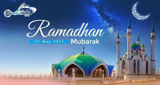Selamat menyambut Ramadhan Al-Mubarak!