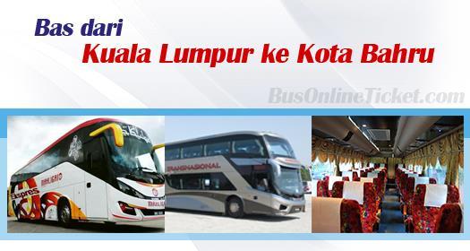 Bas dari Kuala Lumpur ke Kota Bahru