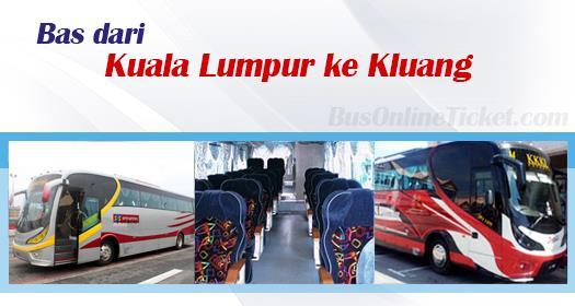 Bas dari KL ke Kluang