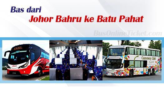 Bas dari Johor Bahru ke Batu Pahat