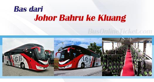 Bas dari Johor Bahru ke Kluang
