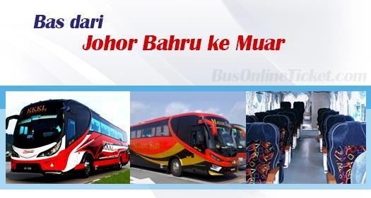 Bas dari Johor Bahru ke Muar