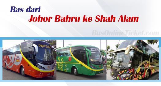 Bas dari Johor Bahru ke Shah Alam