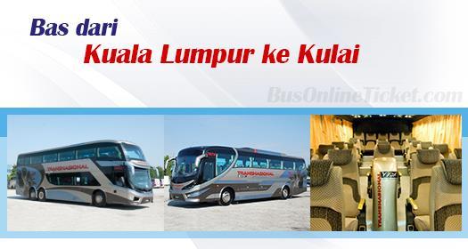 Bas dari KL ke Kulai