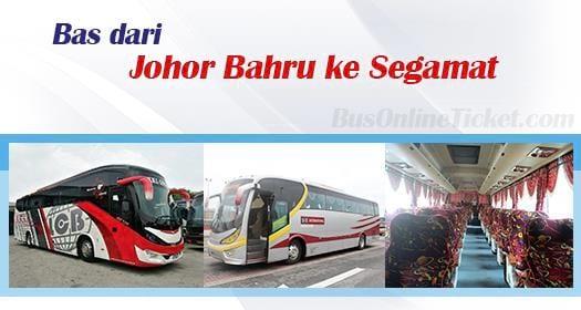 Bas dari Johor Bahru ke Segamat