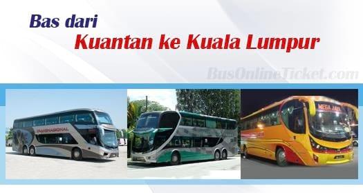 Bas dari Kuantan ke KL