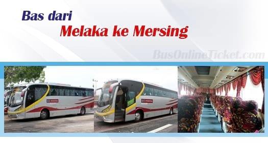 Bas dari Melaka ke Mersing