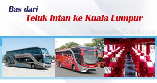 Bas dari Teluk Intan ke Kuala Lumpur