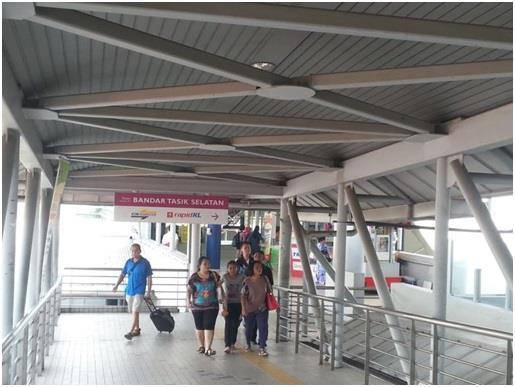 Papan Tanda LRT Bandar Tasik Selatan