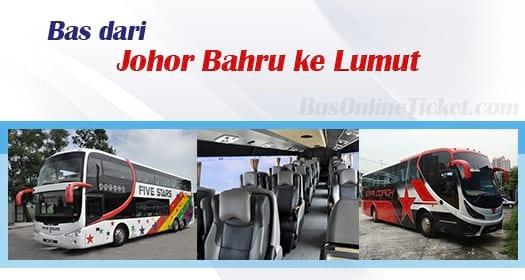 Bas dari Johor Bahru ke Lumut