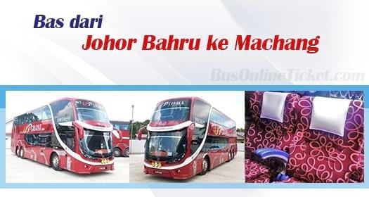 Bas dari Johor Bahru ke Machang