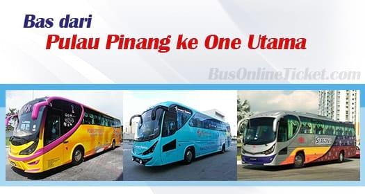Bas dari Pulau Pinang ke One Utama