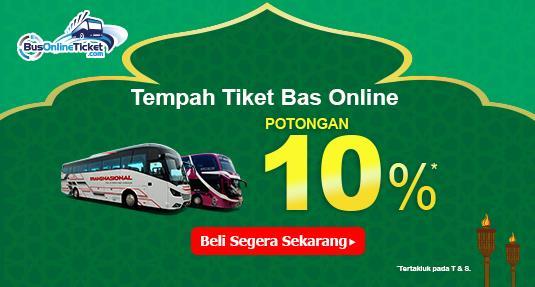 Promosi Tiket Bas Hari Raya Busonlineticket Com