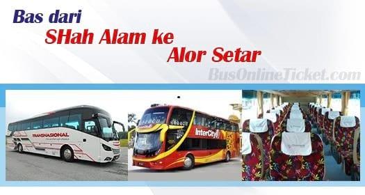 Bas dari Shah Alam ke Alor Setar