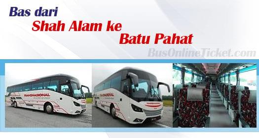 Bas dari Shah Alam ke Batu Pahat