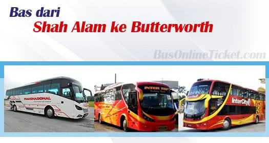 Bas dari Shah Alam ke Butterworth