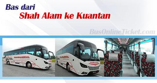 Bas dari Shah Alam ke Kuantan