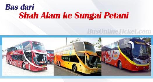 Bas dari Shah Alam ke Sungai Petani