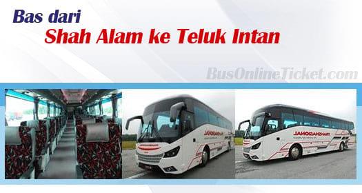 Bas dari Shah Alam ke Teluk Intan