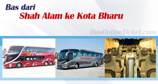 Bas dari Shah Alam ke Kota Bharu