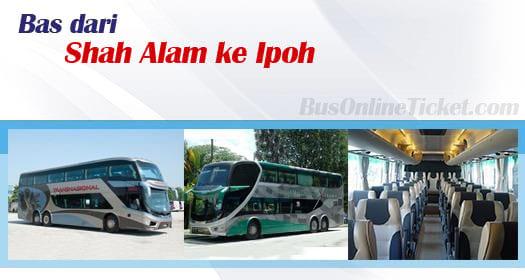 Bus dari Shah Alam ke Ipoh