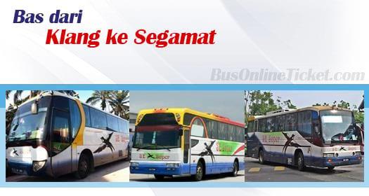 Bas dari Klang ke Segamat