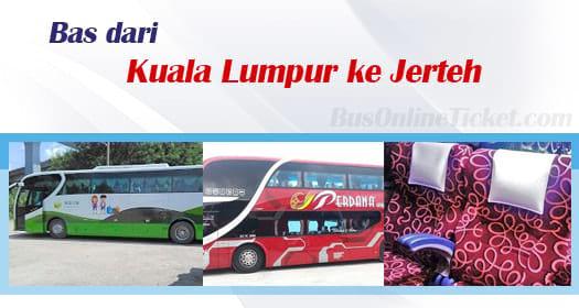 Bas dari Kuala Lumpur ke Jerteh