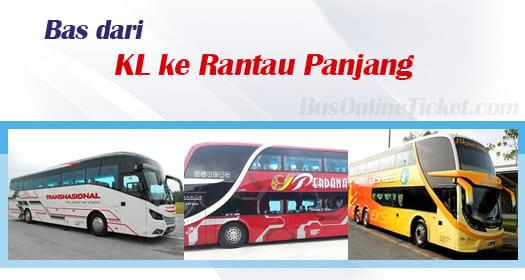 Bas dari Kuala Lumpur ke Rantau Panjang