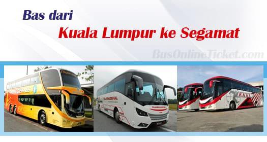 Bas dari Kuala Lumpur ke Segamat