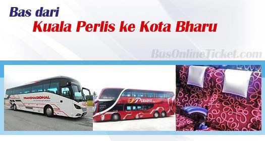 Bas dari Kuala Perlis ke Kota Bharu