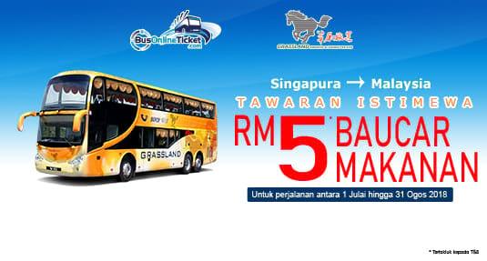 Tawaran Istimewa Grassland Express: Pemberian Baucar Makanan RM5