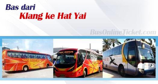 Bas dari Klang ke Hat Yai