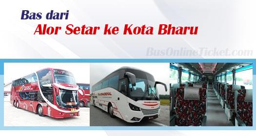 Bas dari Alor Setar ke Kota Bharu