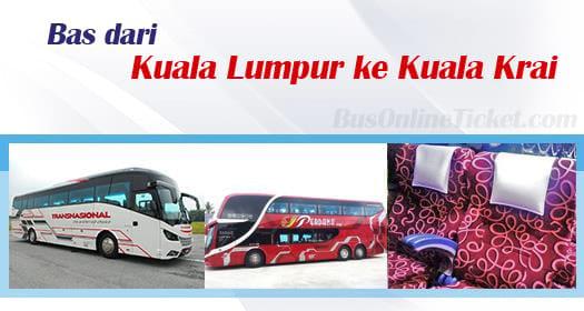 Bas dari KL ke Kuala Krai