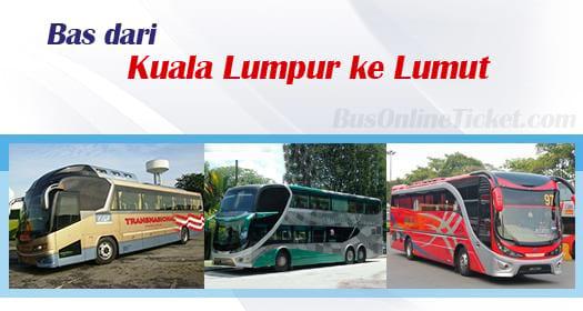 Bas dari KL ke Lumut