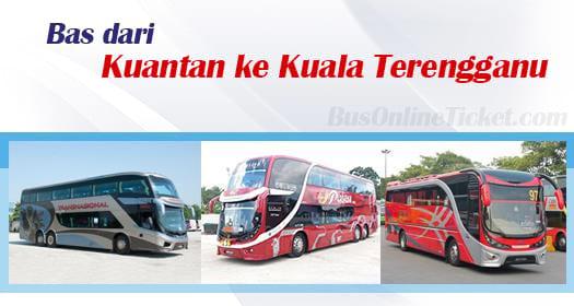 Bas dari Kuantan ke Kuala Terengganu