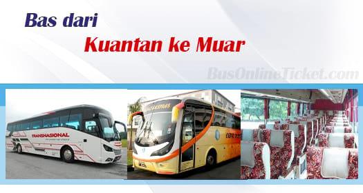 Bas dari Kuantan ke Muar