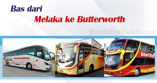 Bas dari Melaka ke Butterworth