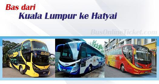 Bas dari Kuala Lumpur ke Hatyai