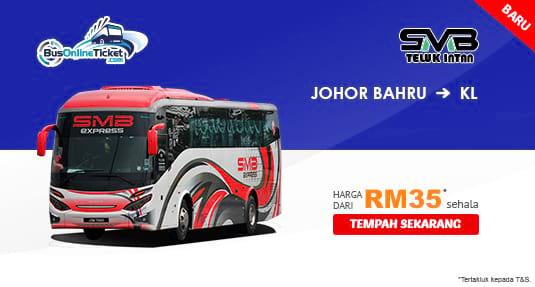 SMB Express Bas Ekspres Dari Johor Bahru ke Kuala Lumpur