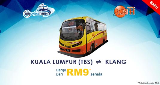 Urban Bus Menawarkan Bas Antara Kuala Lumpur dan Klang